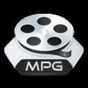 Media video mpg icon