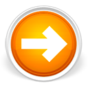 orange, arrow, right, forward, lanjut, next icon