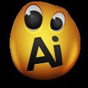 adobe, illustrator icon
