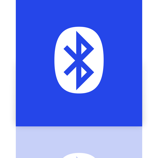 bluetooth, mirror, alt icon