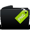 Black, Folder, Png icon