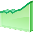 line, increase, graph, chart icon
