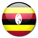 uganda,flag,country icon