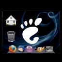 Desktop, Emblem, Restore icon