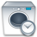 Clock, Machine, Washing icon