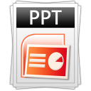 ppt, powerpoint icon
