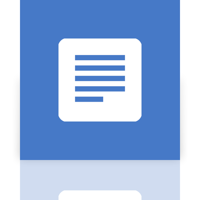 doc, mirror, google icon