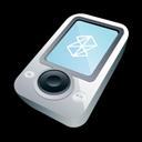 Microsoft, White, Zune icon