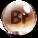 Adobe, Bridge, Glass icon