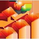 organigrama, christmas, sitemap, structure icon
