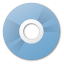 save, cd, blue, disc, disk icon