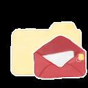 Ak, Folder, Mail, Vanilla icon