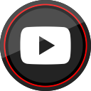 youtube, social, media, logo, play icon