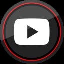youtube, social, media, logo, play icon