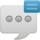 show text message icon