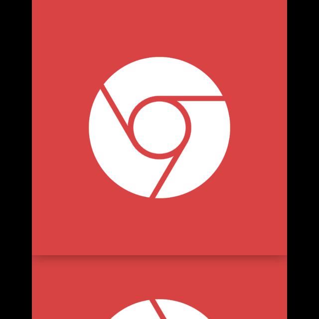 chrome, mirror, google icon