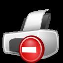 warning, exclamation, error, wrong, print, printer, alert icon