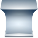 teacher, desk icon