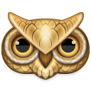 bird, owl, animal icon