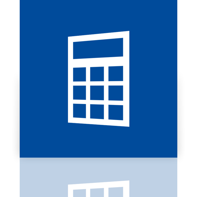 alt, mirror, calculator icon