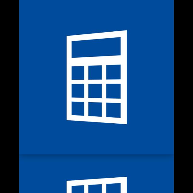 alt, mirror, calculator icon