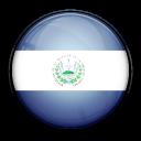 salvador, flag, country icon