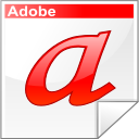 type, adobe, font, letter, a icon