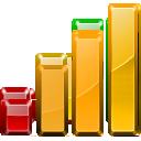 statistics, graph, chart, bars icon