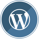 wp, cms, blogging, web, internet, blog, wordpress icon