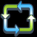 recycle bin, blank, empty, trash icon