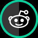 reddit, social, media, online, logo icon