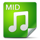mid, filetype icon