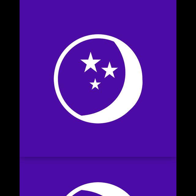 sleep, power, mirror icon