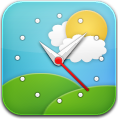 Clock, Simple, Weather icon