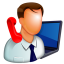 call center, user, help, business, manager, man, support, call, sell, businessman, online support, guy, receptionist, buy, shopping icon