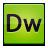 dreamweaver, creative, suite icon