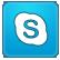 alt, skype icon
