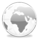 Globe, Milk icon