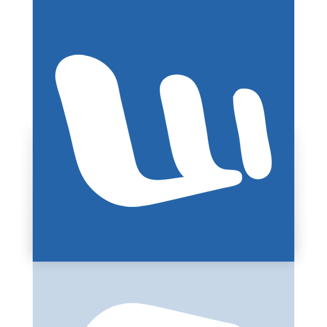 word, mirror icon