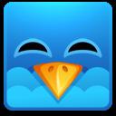 Happy, Square, Twitter icon