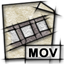 mime, video, gnome, quicktime icon