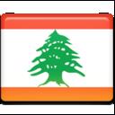 lebanon,flag icon