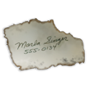 marla, paper, document, singer, number, file icon