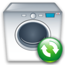 Machine, Refresh, Washing icon
