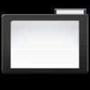 dark,folder icon