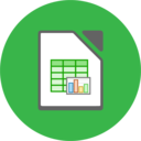 libreoffice calc flat icon