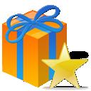 Gift, Present, Star icon