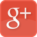 google+, red, plus, social media, square icon