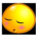emoticom, embarrassed, face, avatar icon