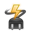 battery ac adapter icon